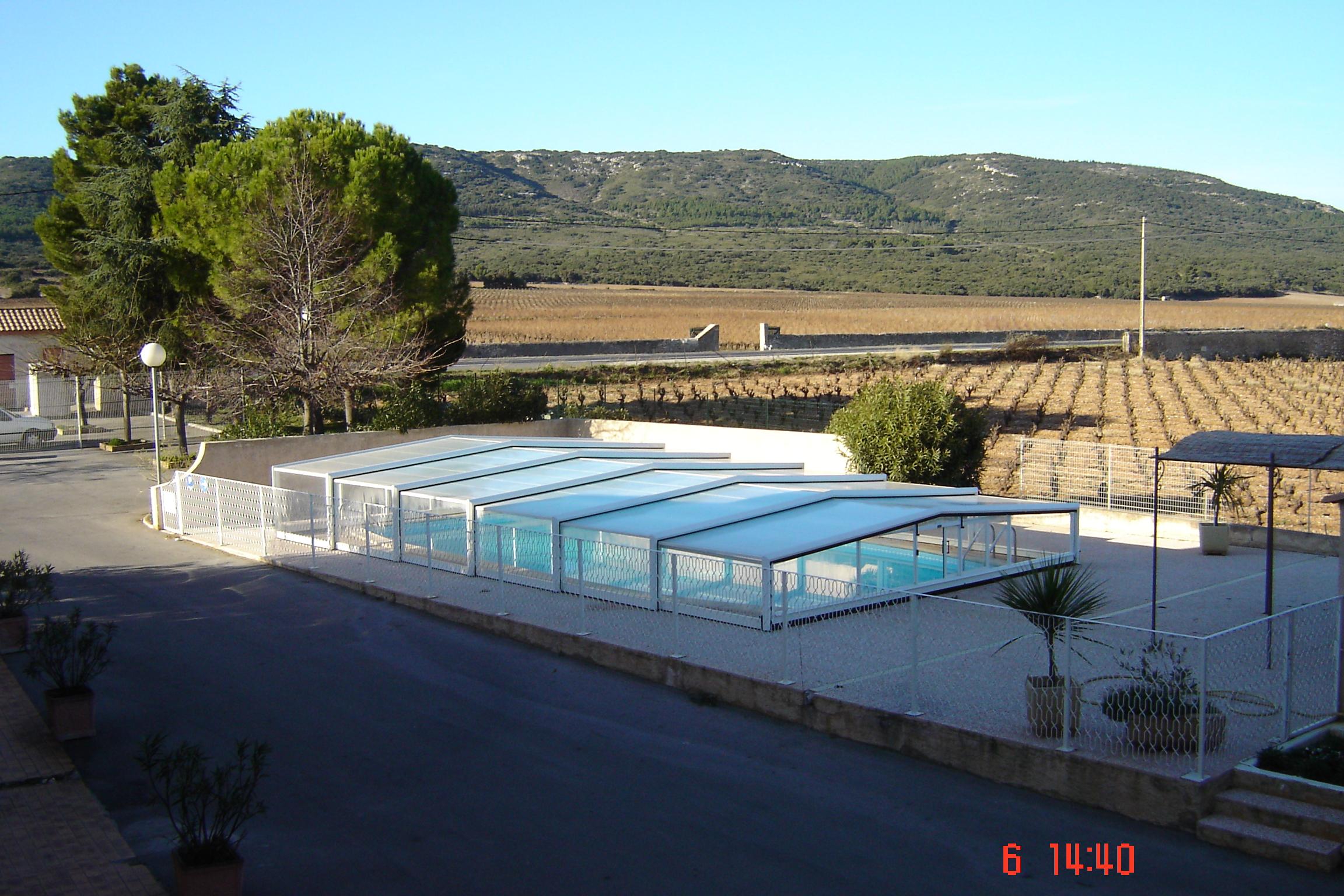 R paration abris de piscine eureka et autres for Reparation abri piscine